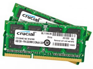 A1278 4GB RAM Memory (PC3-8500) for Apple MacBook 13 inch A1278 Late 2008, A1342 Late 2009, A1342 Mid 2010. Apple MacBook Pro 13 inch A1278 Mid 2009, A1278 Mid 2010, A1286 - Late 2008