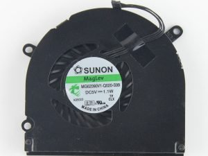 CPU Fan, Right for Apple MacBook Pro 15-inch A1286 Late 2008, A1286 Early 2009, A1286 Mid 2009, A1286 Mid 2010, A1286 Early 2011, A1286 Late 2011, A1286 Mid 2012