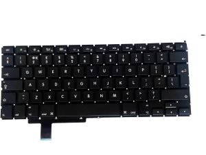 A1297 Keyboard (UK English) for Apple MacBook Pro 17 inch A1297 Early 2009, A1297 Mid 2009, A1297 Mid 2010, A1297 Early 2011, A1297 Late 2011