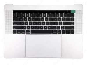 A1707 Top Case with Keyboard and Trackpad (Silver) for Apple MacBook Pro 15 inch retina Touch Bar A1707 Late 2016