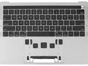 A2159 Top Case with Keyboard, Silver for Apple MacBook Pro 13-inch Retina Touch A2159 (Mid 2019)