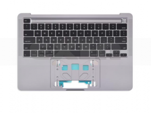 A2251 Top Case, Space Gray for Apple MacBook Pro 13-inch Retina Touch A2251 (Mid 2020)